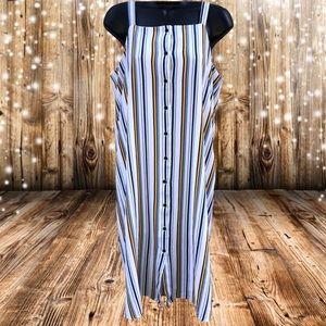 🌸2/$20🌸 Forever 21 | Striped Jumper Dress | M